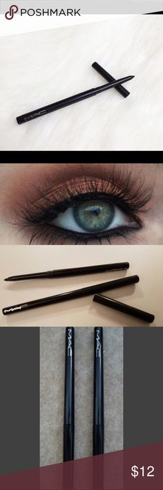 Two Mac Eyeliner--Technakohl eyeliner Two Mac Eyeliner--Technakohl eyeliner 🎀 •Brand new •Never used  •Transfer-resistant •Long wearing, 8 hours •Smudge resistant • Applies soft and creamy •Color-Black                                                              Chose any size Sephora Makeup Eyeliner