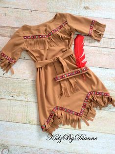 Girl's Native American Indian Costume Size 5 Ready to image 0 Indian Halloween Custome, Indian Costume Kids, American Indian Costume, Native American Halloween Costume, Native American Dress, Indian Costumes, Costumes For Women, American Indians, Girl Costumes