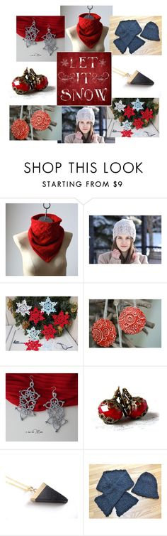 """""""Let it snow"""" by artsenseboutique ❤ liked on Polyvore featuring Oliver Gal Artist Co."""