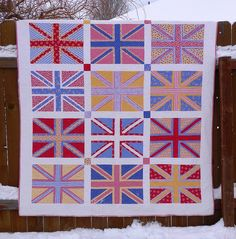 Victory Garden quilt by goin' dixie, via Flickr