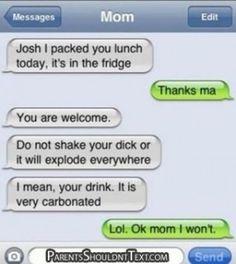 Quando l'autocompletamento dell'iphone disturba la comunicazione tra genitori e figli...
