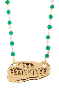 New Beginnings Necklace - Gold on HauteLook