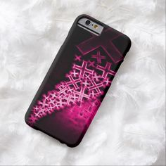 Religious Fractal Pink iPhone 6, Barely There Case by BOLO Designs.