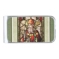 St. Patrick's Day | St. Patrick Money Clip - st patricks day gifts Saint Patrick's Day Saint Patrick Ireland irish holiday party