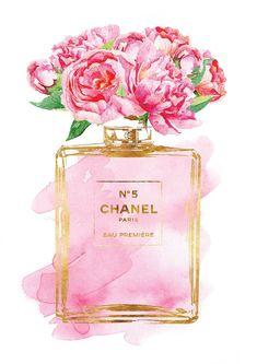 hellomrmoon : Chanel No5 Pink Peony