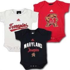 Maryland Terrapins Infant Red Construction Site Creeper Number 3