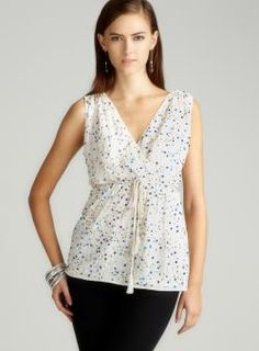 French Connection S/L Sequin Emellished Blouse