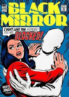 Black Mirror: Artista brasileiro, Butcher Billy faz impressionantes capas de quadrinhos da série