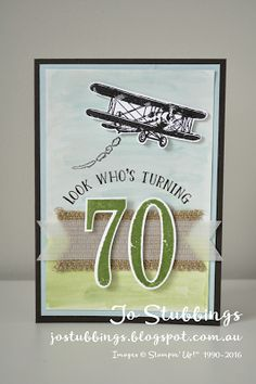 Jo's Stamping Spot - Just Add Ink #303 - Sky Is The Limit - Stampin' Up!