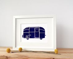 Summer, camping, mountains, beaches, smores…what kind of travel makes you tick?    A sweet hand-printed reminder of past travels and adventures yet