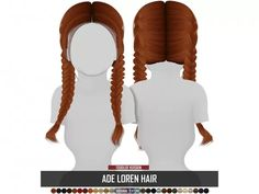 The sims ade loren hair toddler version The Sims 4 Pc, Sims Four, Mods Sims 4, Sims 4 Body Mods, Sims 4 Cc Kids Clothing, Sims 4 Mods Clothes, Girl Clothing, Sims 4 Cc Skin, Sims Cc