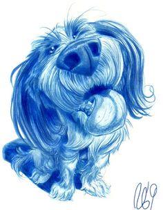 Animal Caricature No. 39 by SuperStinkWarrior on DeviantArt - character CG - Caricature Animal Drawings, Art Drawings, Character Illustration, Illustration Art, Dog Charities, Grey Kitten, Caricature Drawing, Post Animal, Cartoon Sketches
