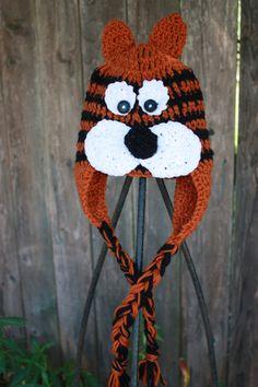 crochet auburn tiger idea