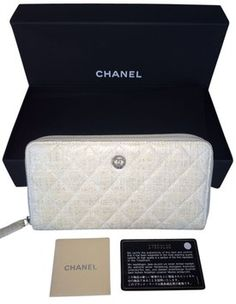 Quilted Chanel Zip Walet On Sale TODAY!