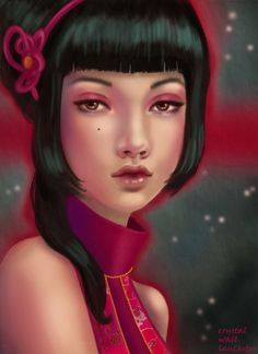 ✯ Midnight Ruby .. By *CrystalWallLancaster*✯