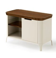 airia desk and media cabinet by herman miller