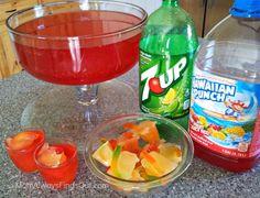 Halloween Punch for Kids: Worm Juice #halloween #punch