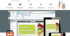Presenter: crea presentaciones, infografías y animaciones en HTML5