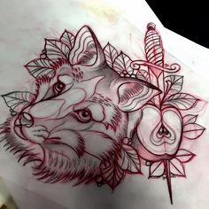 Sketch by Manu Racoon