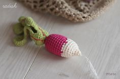 Crochet radish long shape by MiriTreasures on Etsy Polymer Clay Creations, Crochet Earrings, Shapes, Trending Outfits, Unique Jewelry, Handmade Gifts, Etsy, Vintage, Kid Craft Gifts