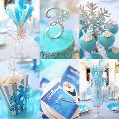 snow party decorations - Buscar con Google