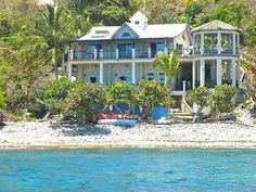 Pelican Beach, Waterfront, Beachfront, Where to stay in Coral Bay, St. John, US Virgin Islands, Luxury and affordable rental villa homes rent by the week, Windspree Vacation Homes