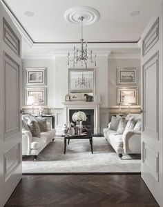 Classic Living room with sophisticated decor. Classic Living room with sophisticated decor. Formal Living Rooms, Living Spaces, Modern Living, Living Area, Small Living, Living Room Decor Elegant, Contemporary Living Rooms, Cozy Living, Elegant Home Decor
