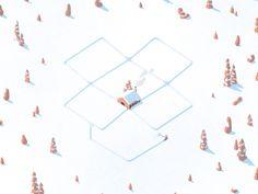 Happy holidays by Justin Tran #Design Popular #Dribbble #shots