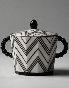 Art deco sugar bowl , Pavel Janák