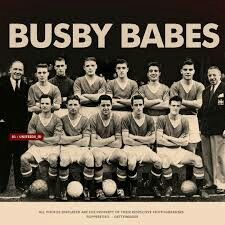 Man Utd team group in 1957.