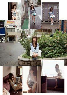 """AKB48 Haruka Ishida """"Tohikou Shojo"""" on WPB Magazine"""