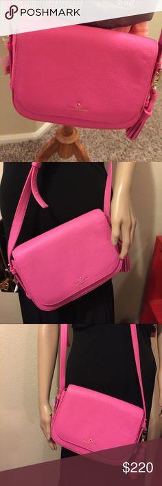 NWT Kate Spade Penelope Pink Kate Spade cross body Pink Penelope  Gorgeous  $328 6.8 x 5.9 x 2.5 kate spade Bags Crossbody Bags