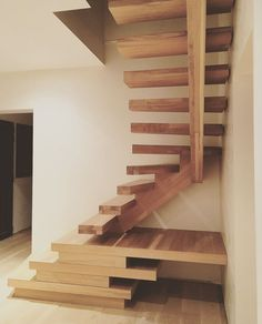 It won't cost you too much money to go this route and your basement guest room Basement Guest Rooms, Basement Windows, Wooden Architecture, Architecture Design, Escalier Design, Beautiful House Plans, Loft Stairs, At Home Movie Theater, Floating Stairs