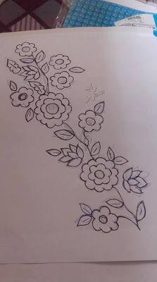 رشمات متنوعة لطرز الرباطي والتنبات Handwork Embroidery Design Sewing Embroidery Designs Embroidery Designs