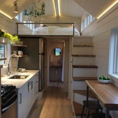 Tiny Houses Plans With Loft, House Plan With Loft, Tiny House On Wheels, Tyni House, Tiny House Cabin, Tiny House Living, Tiny House Layout, Tiny House Design, House Layouts