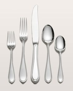 66-Piece Triumph Sterling Silver Flatware Service by Tuttle at Horchow.