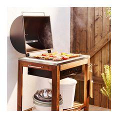 ÄPPLARÖ / KLASEN Houtskoolbarbecue - IKEA