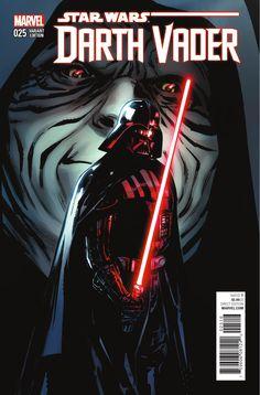 Star Wars: Darth Vader Variant Cover by Sara Pichelli Star Wars Comics, Star Wars Comic Books, Bd Comics, Marvel Comics, Marvel Vs, Star Wars Sith, Darth Vader, Sara Pichelli, Movie Shots