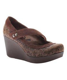 Another great find on #zulily! Rich Brown Wilder Leather Mary Jane #zulilyfinds