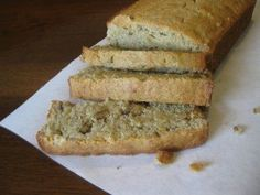 Easy gluten free banana bread, simple basic ingredients that anyone can make!