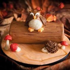 This beautiful autumn cake is easy to make with the step by step instructions. The tree is made of the FunCakes mix for chocolate biscuit and filled with butter Sweet Recipes, Cake Recipes, Dessert Recipes, Desserts, Gorgeous Cakes, Amazing Cakes, Chocolat Halloween, Extreme Cakes, Fantasy Cake