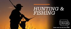 Our friends at Iowa DNR want to help you get ready to hunt and fish Iowa.