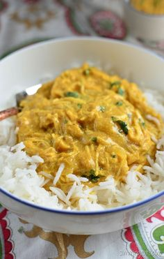 Slimming Eats Quick Mild Chicken Curry - gluten free, Slimming World and Weight Watchers friendly