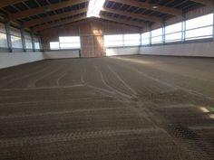 Projekt Mönchengladbach 28-10-2014  Arbeiten Reithalle Ebbe-Flut 20x40m in Mönchengladbach fertiggestellt.