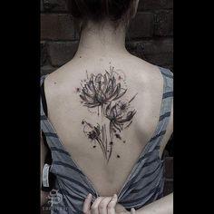 Fresh WTFDotworkTattoo Find sannisaar: Little abstract lotus flower. Thanks…