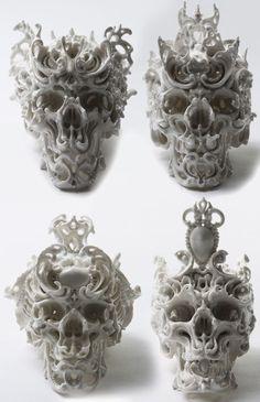 Фарфоровые черепа Katsuyo Aoki