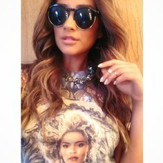 Queen B. | 110 Times Shay Mitchell Looked Superglam on Instagram | POPSUGAR Fashion