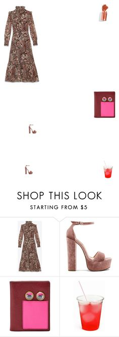 """""""Grace"""" by zoechengrace ❤ liked on Polyvore featuring Yves Saint Laurent, Steve Madden and FOSSIL"""