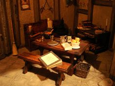Leaky Cauldron miniature dollhouse