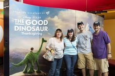 450 Disney Parks Blog Readers Attend 'The Good Dinosaur' Meet-Up Disney Fun, Disney Pixar, Disney Stuff, Disney Parks Blog, Walt Disney World, Disney Cast Member, The Good Dinosaur, Disney Springs, Good Ol